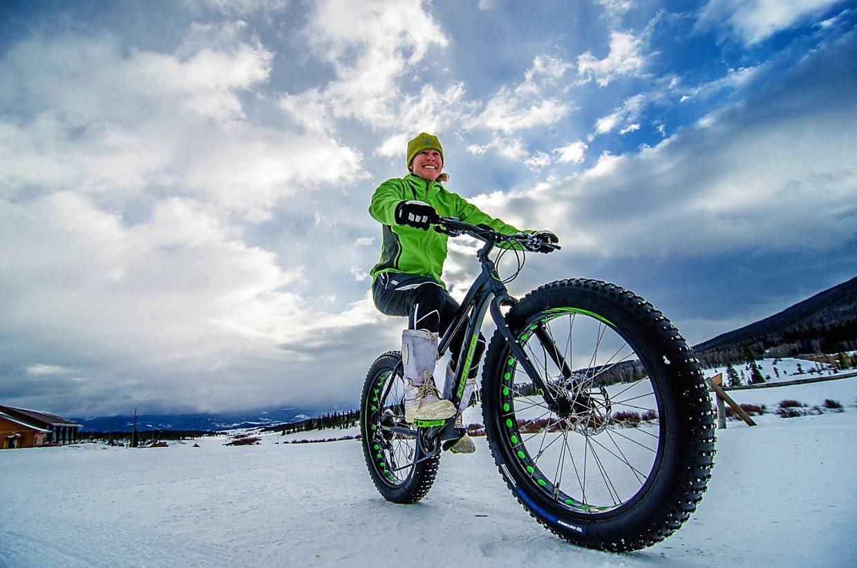 Fat Biking near Winter Park, Colorado