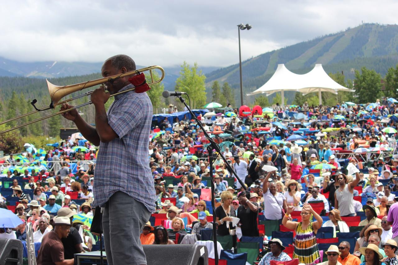 Jazz Festival in Winter Park, Colorado