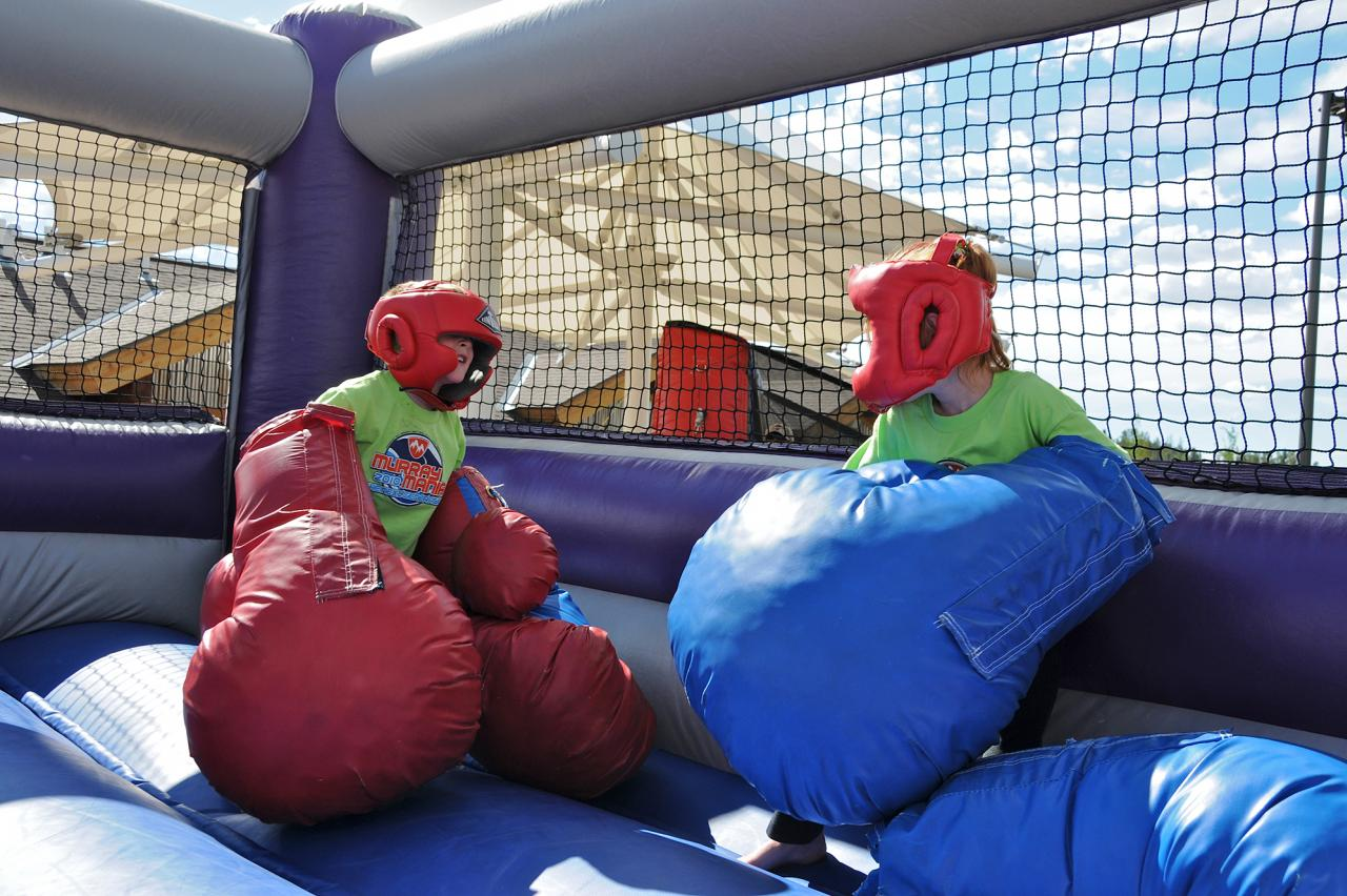 Fun, families, inflatables at Winter Park FallFest