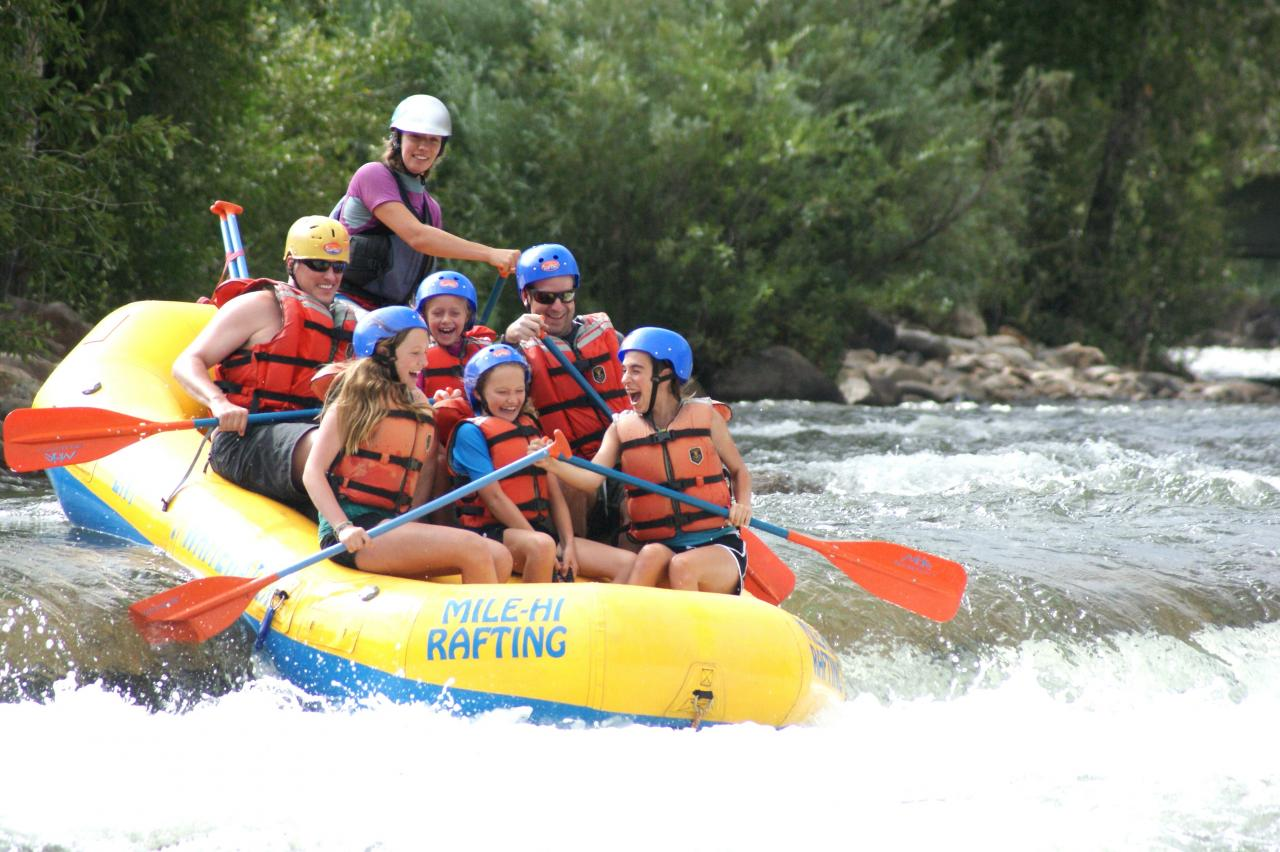 White Water Rafting on the Colorado River near Winter Park, Colorado