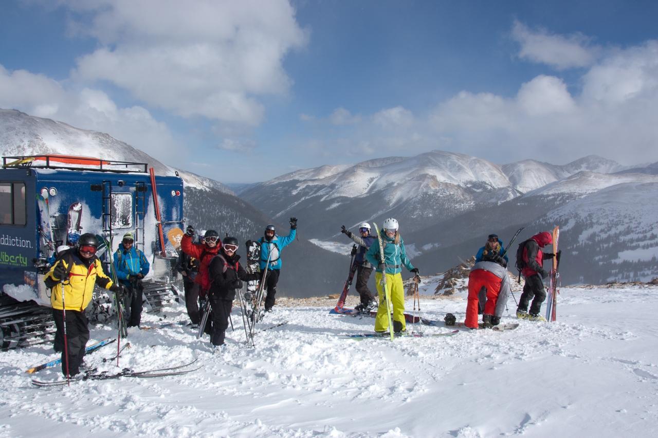 Colorado's best snowcat skiing and snowboarding adventure near Winter Park, Colorado