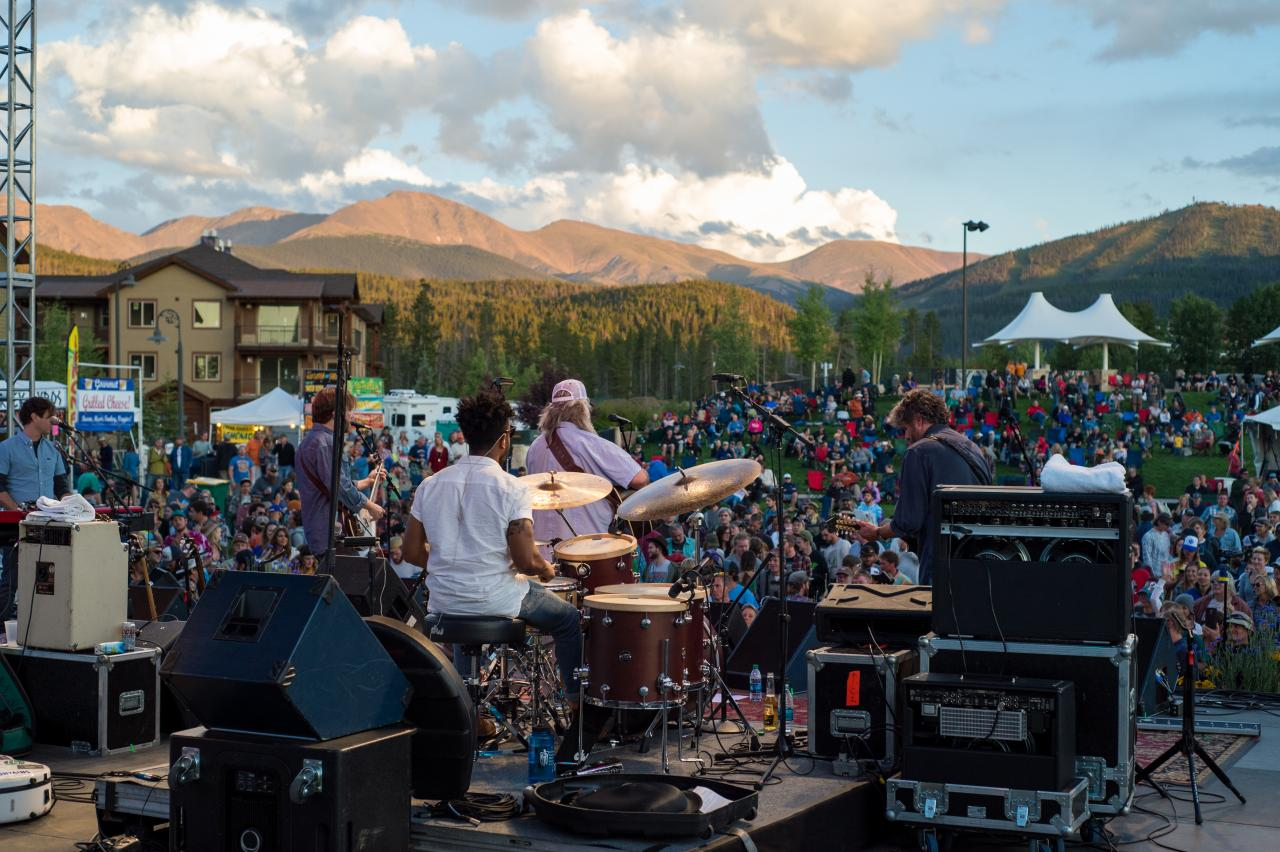 Live Music at Hideaway Park in Winter Park, Colorado