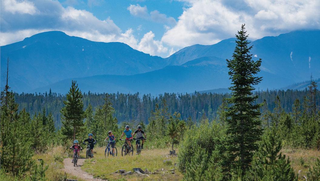 Summer Family Biking