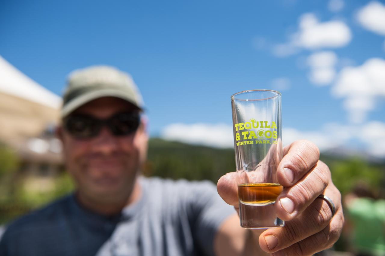 Tequila and Tacos Festival in Winter Park, Colorado