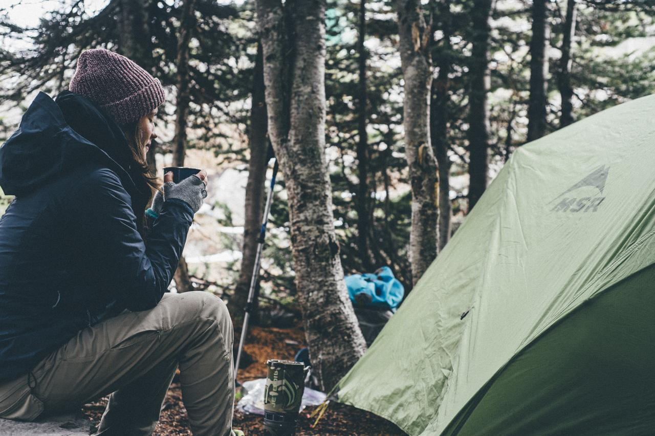 Camping in Winter Park