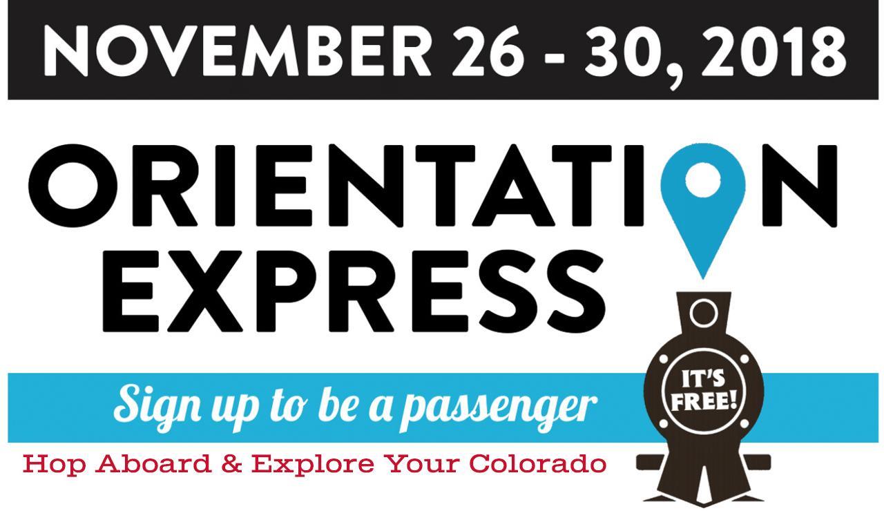 2018 Orientation Express