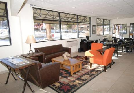 Large comfortable lobby