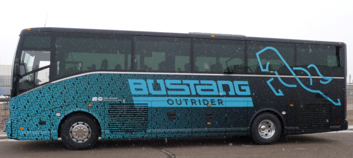 Bustang Outrider Transit Center at Cooper Creek Square