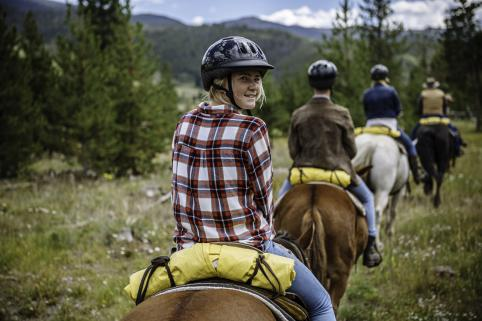Children and Adult Horseback Riding