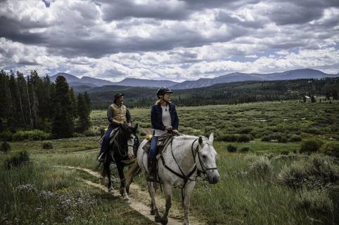 Year-Round Horseback Riding