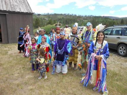 Medicine Heart Native Dancers at the museum