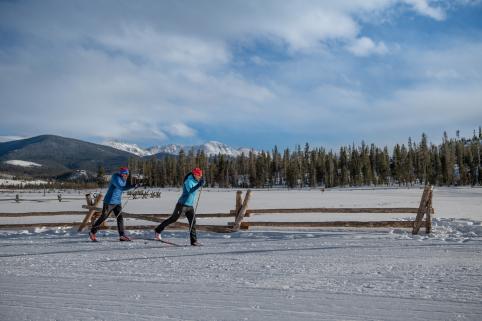Cross-Country Ski Lessons Colorado