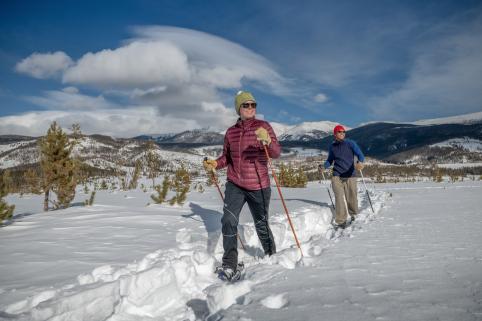 Colorado Mountain Snowshoeing