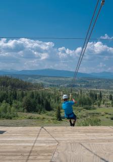 Colorado Mountain Zip Lining