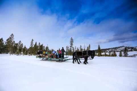 Devil's Thumb Ranch Resort & Spa Sleigh Rides