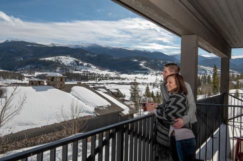 Devil's Thumb Ranch Resort & Spa Balcony Views