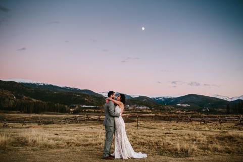 Summer Sunset Wedding