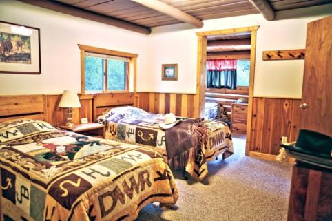 Typical Cabin Interior View at Drowsy Water Ranch