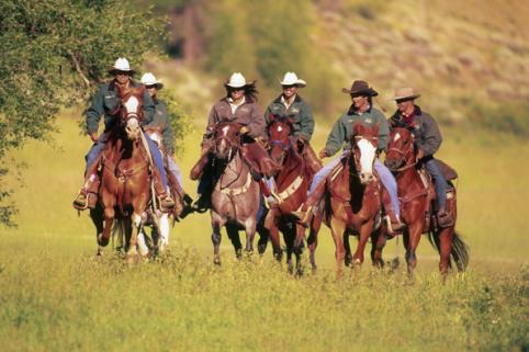 Horseback Riding at Drowsy Water Ranch