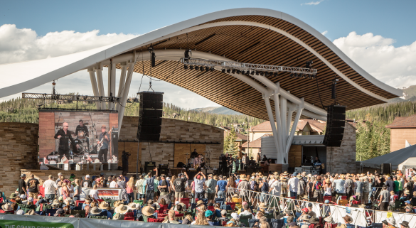 """Blues from the top Hideaway Park. Voted """"Best Colorado Blues Festival"""" two years in a row."""