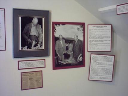 Learn about President Eisenhower's Summer Cabin in Fraser.
