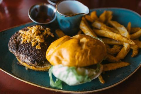 Heck's Wagyu beef burger
