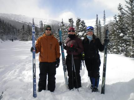 Cross-Country Skiing Rocky Mountain National Park