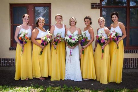 Freelance designed Bridesmaid Skirts