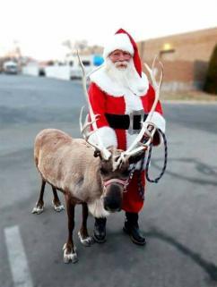 Santa & Comet Visiting Dec. 19 & 20