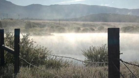 Mist over Pond / Tabernash Spring 2011
