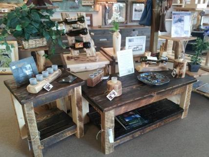 We have a wide variety of home decor, Gifts, and locally crafted art.