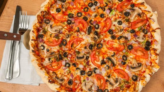 The Boulder Garden Specialty Pizza