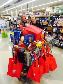 Mountain Family Center Food Drive / Shopping Spree