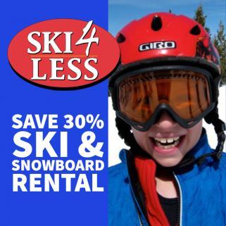 Ski4Less onsite at Winter Park Mountain Lodge near base of Winter Park Resort