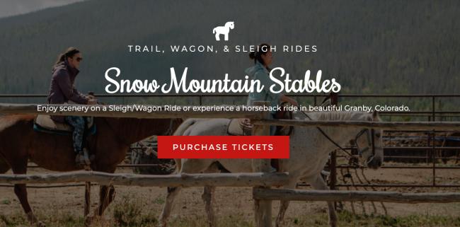 Snow Mountain Stables