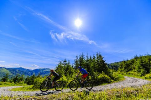 Summer mountain biking in Grand County