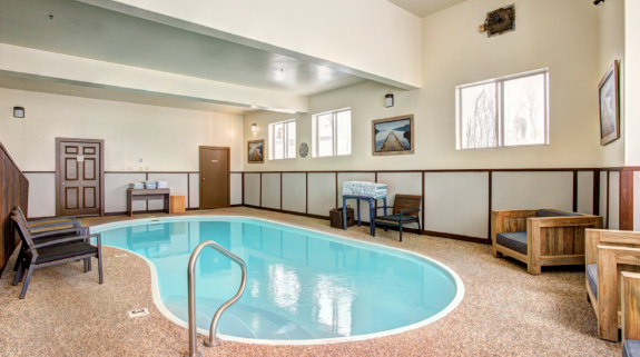 Trailhead Inn Indoor pool