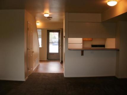 Kitchen, Entrance Living Room