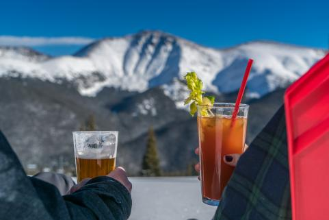 Mountaintop Apres at Winter Park Resort