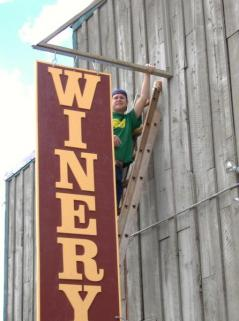 Winter Park Winery Sign