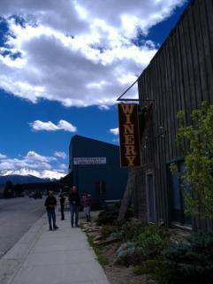 Entrance off of Hwy $0 in Fraser