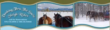 Dashing Thru The Snow/Winter Park Trail Rides