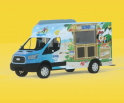 Kona Ice of Peaks and Valleys Truck Photo