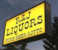R&J Liquors Logo