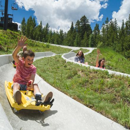 Colorado's longest Alpine Slide at Winter Park Resort