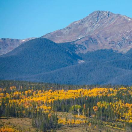 Byers Peak in Fall near Winter Park, Colorado