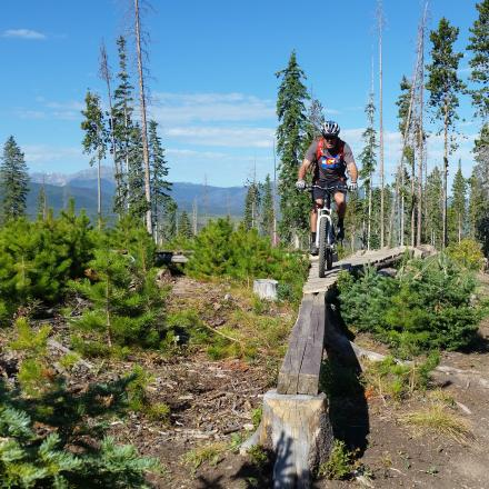 Mountain Bike the Idlewild Trail System in Winter Park, Colorado