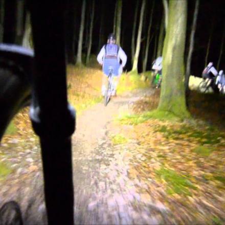 Night Bike Trail Ride in Winter Park, Colorado