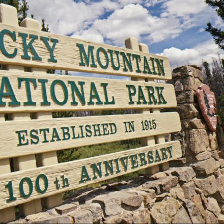 Rocky Mountain National Park is just miles from Winter Park
