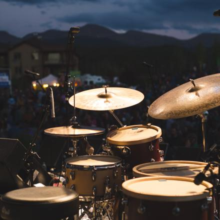 Summer Concert Series in Hideaway Park in Winter Park, Colorado